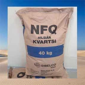 Кварцевый песок Sibelco в мешках - кварц зернистый для фильтров воды