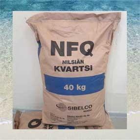 Кварцевый песок для фильтров воды разных фракций сухой в мешках