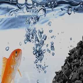 AquaSorb 85 - гранулированный активированный уголь каменноугольный АкваСорб для водоочистки и очистки ливневых стоков и сточных вод предприятий