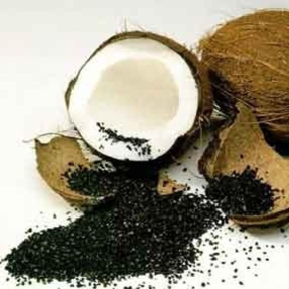 AquaSorb LS 12x30 импрегнированный серебром гранулированный кокосовый активированный уголь АкваСорб