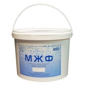 МЖФ ведро 16 кг - сорбент для фильтров очистки воды от железа